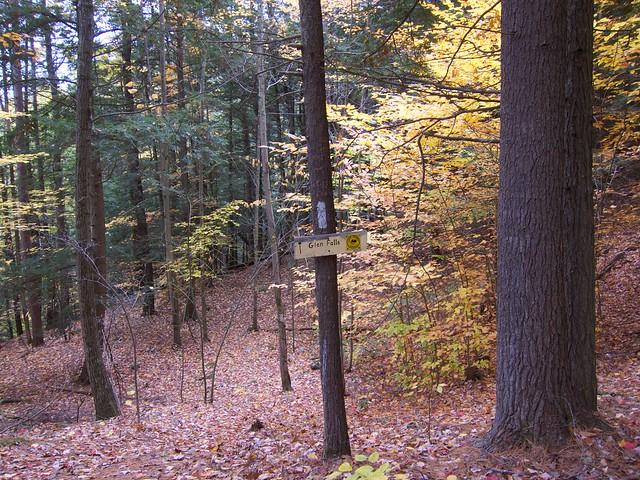 0:09:30 (6%): sign vermont hiking fairlee crossrivendelltrail baldtopmountain