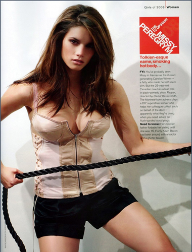 Hot Missy Peregrym By Mary Brown2011