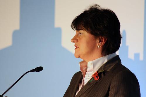 Minister Arlene Foster