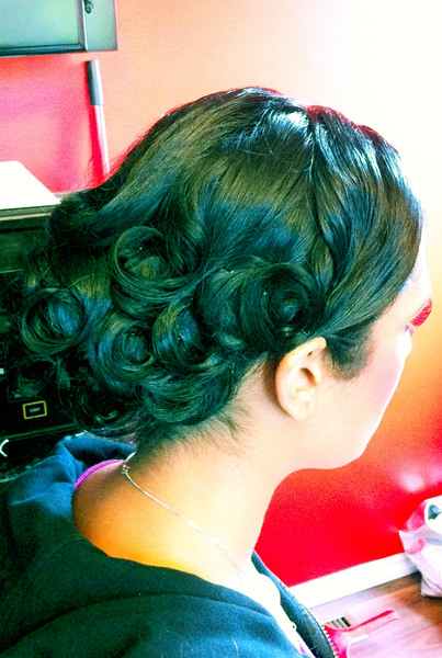 Indian Bridal Hairstyle Low Bun Victoria Flickr