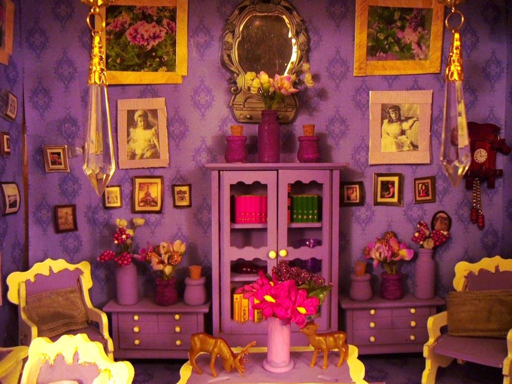 Dolls Miniatures Houses Russian Empress Miniature Dollhouse Picture Home Decor