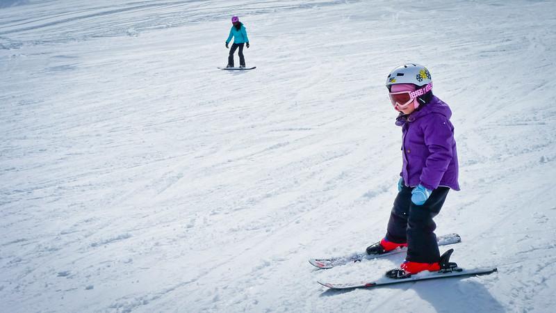Juliana Skiing