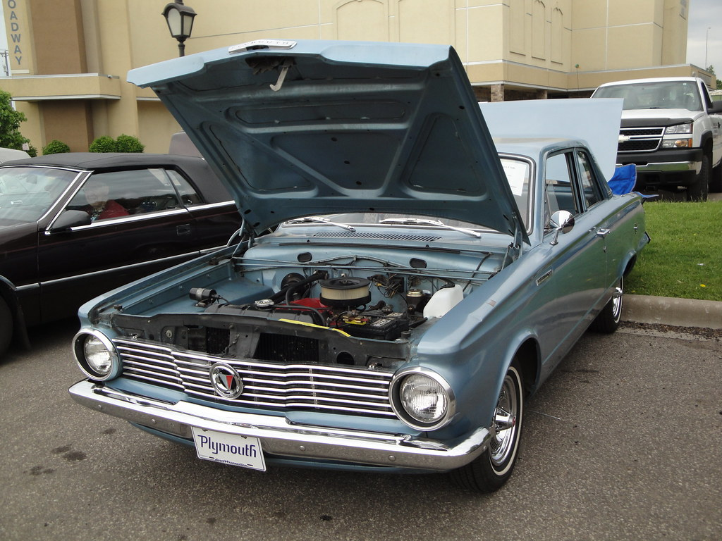 1964 Plymouth Valiant | 30,000 mile Pilot car for the 65 mod