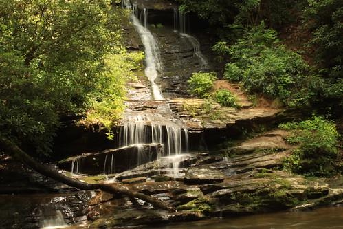 waterfall rocks northcarolina elite