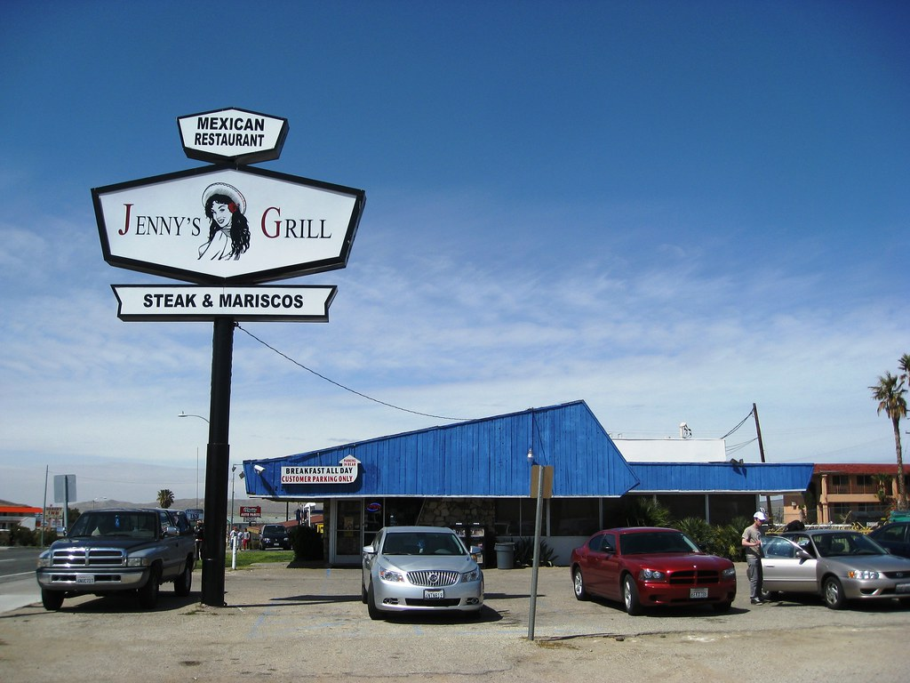 Jenny S Grill A Very Good Mexican Restaurant In Barstow C