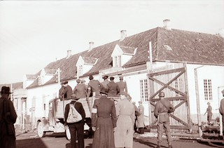 Landssvikfanger på Falstad (1945) / Falstad - people arrested for treason (1945)
