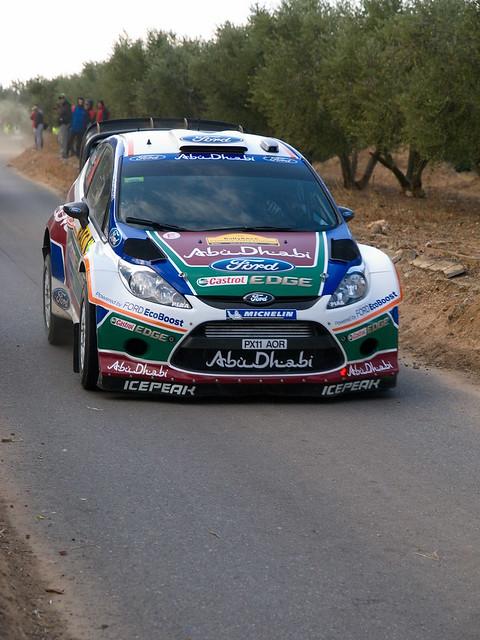 10 TEAM ABU DHABI ARE AL QASSIMI Khalid ORR Michael ARE/GBR FORD Fiesta RS WRC WRC 1 M