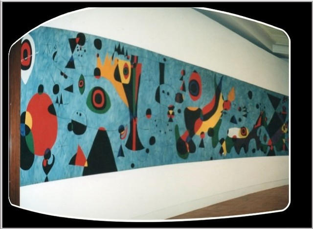 Joan Miró Mural ~ Terrace Plaza Hotel ~  Cincinnati Art Museum