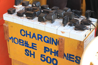 Mobile Phone Charging Station | by AdamCohn