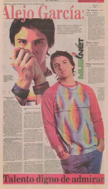 Periódico El Mundo Febrero 2006
