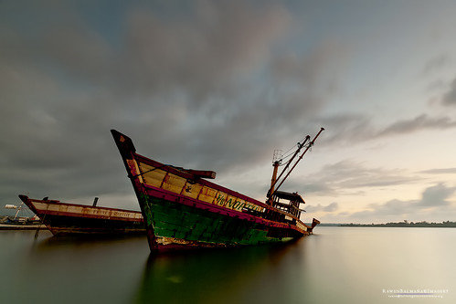 longexposure ruins shipyard wreck masinloczambales