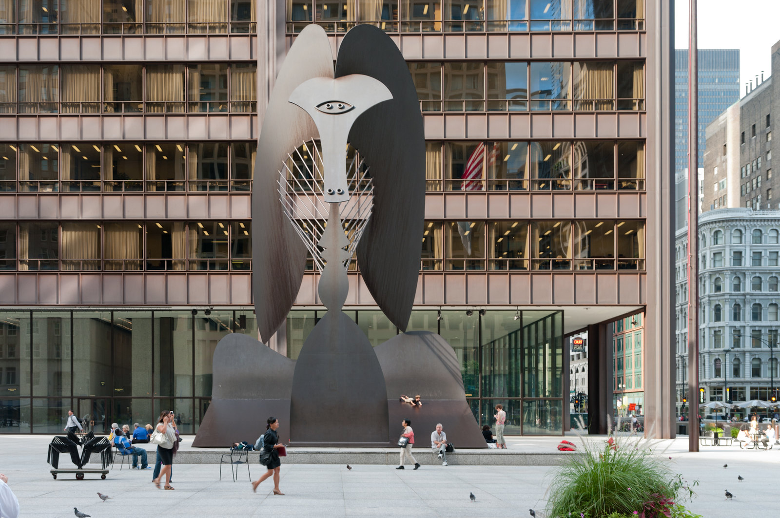 downtown-chicago-picasso-sculpture
