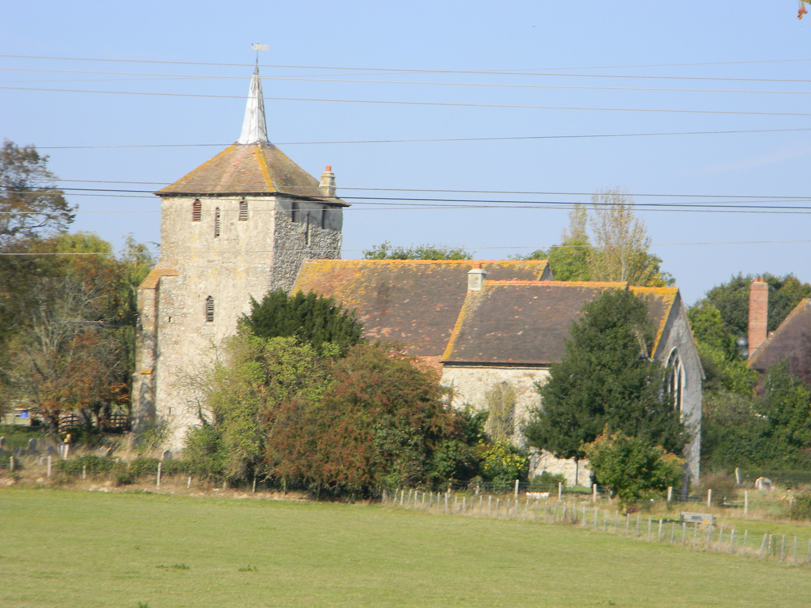 Ruckinge church From the Canal. Ham Street to Appledore
