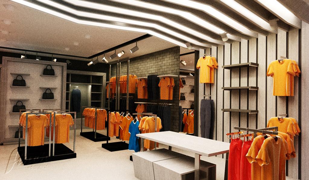 Ogromnie aranżacja wnętrza sklepu odzieżowego w Rzeszowie | Więcej o … | Flickr XP27