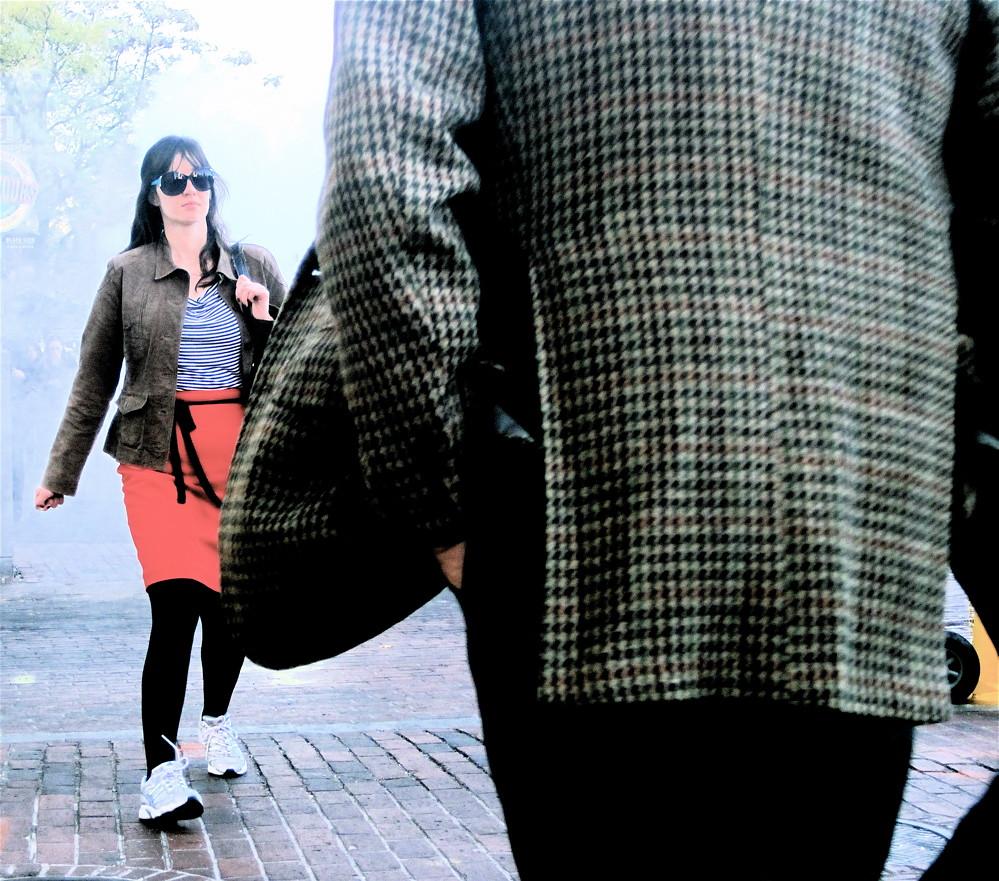 boston downtown crossing tweed jacket