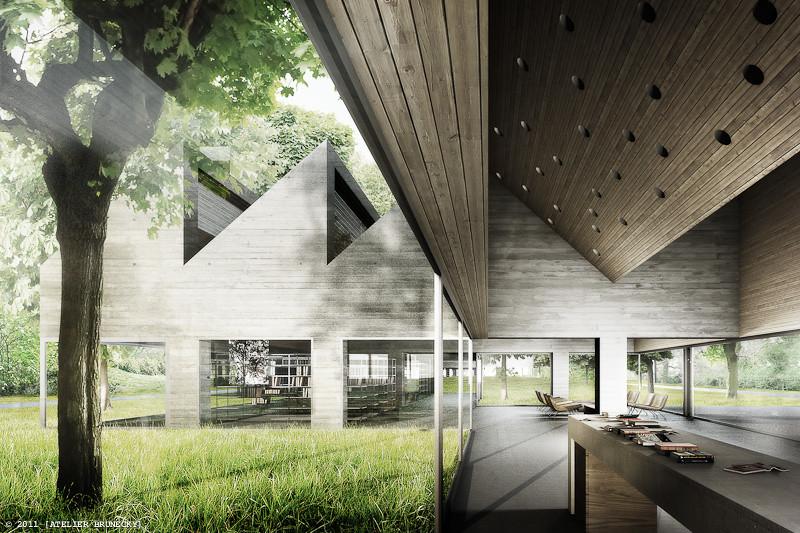 E2a Extension Of Schiller Library Berlin Architektur V