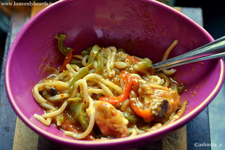 Eating Step 1 Thai Red Curry Noodles | by ashmita_s