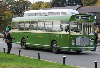 ECW bodied Bristol RELL6G FWC439H on Newport Quay 18 October 2015