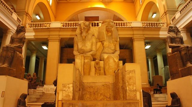 King Amenhotep III and his wife Queen Tiye