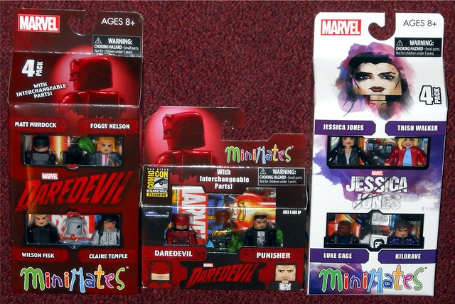 MiniMates - Marvel Netflix Shows