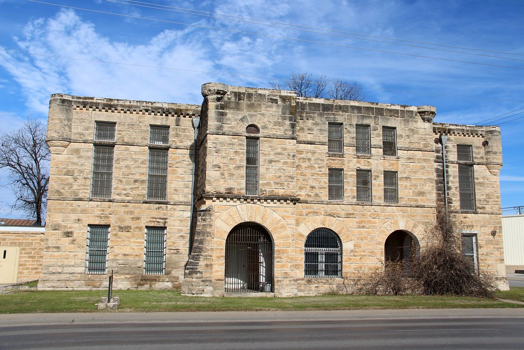 Old Comanche County Jail (Comanche, Texas) | Historic 1903 C