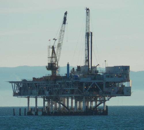 Oil rig | by haymarketrebel