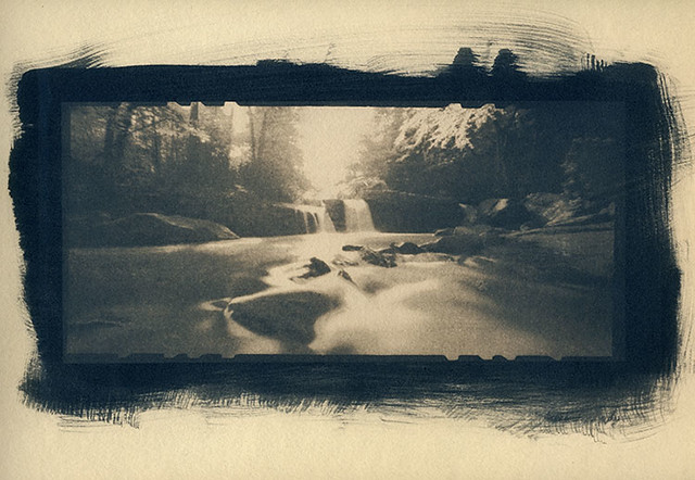 Deckers Creek (Toned Cyanotype)