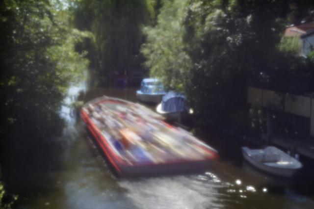 In den Kanälen von Friedrichstadt - in the canals of Friedrichstadt