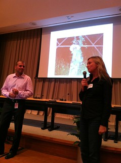 Wayan Vota and Kristin Peterson, Inveneo, at #failfairedc | by inveneo