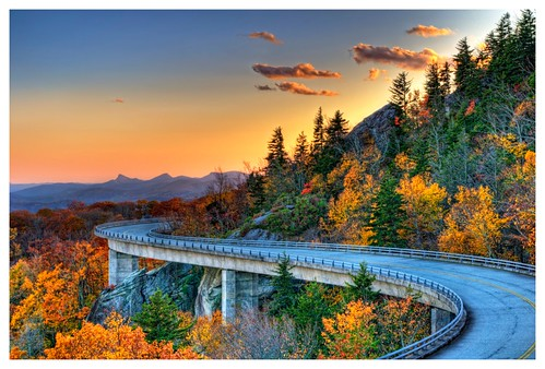 bridge autumn fall nature colors landscape nc architechture october post n northcarolina blueridgeparkway mile 304 d90 foliate dhr linncoveviaduct roade gyawali
