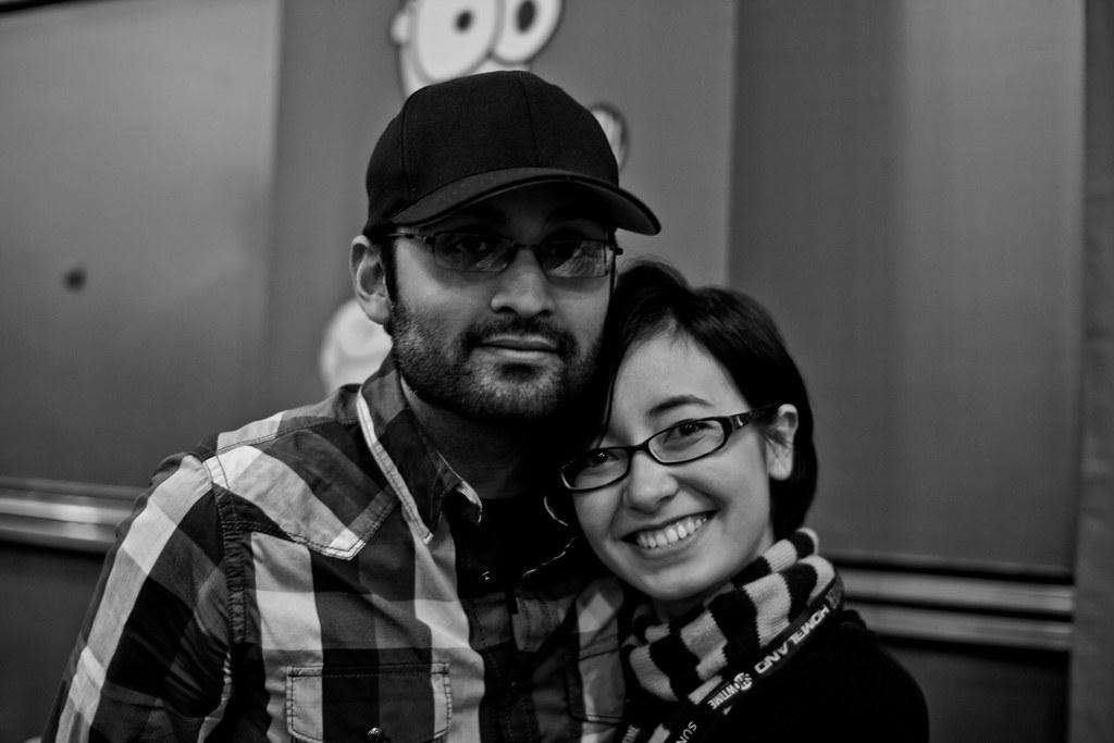 Yuko und Ananth Dating