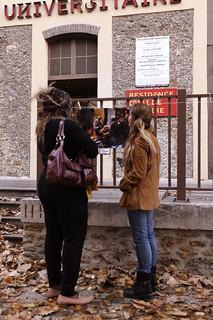 """Expo de Aude Ghilbert """"Sénégal clair / obscur"""" pour Mon Expo en Vitrine 2011"""