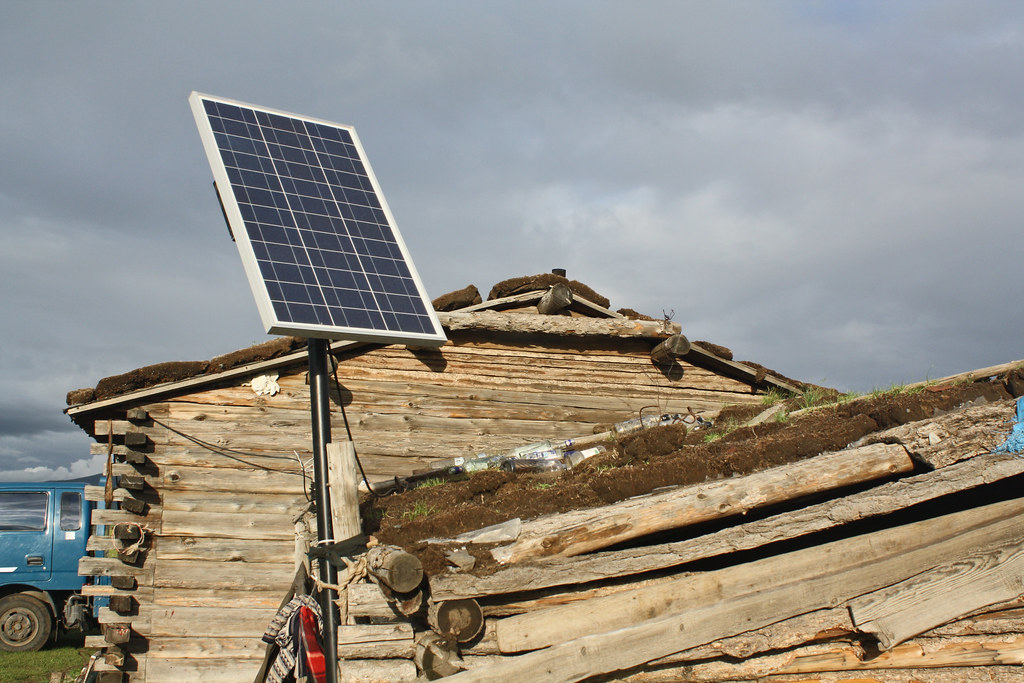 Portable solar systems in rural Mongolia