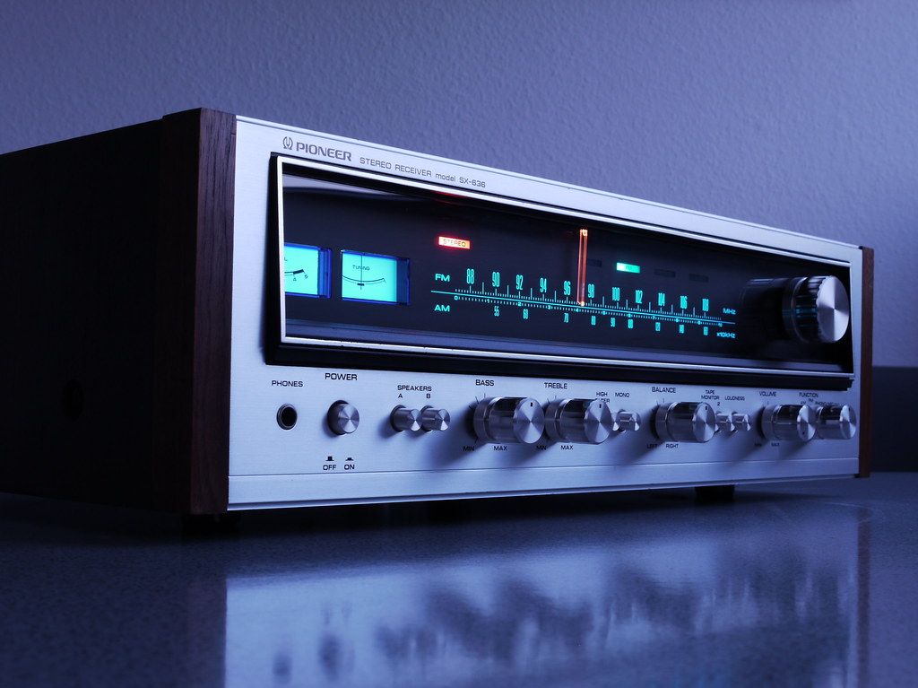 Pioneer SX 636 Stereo Receiver | 1974 One of the famous Pion