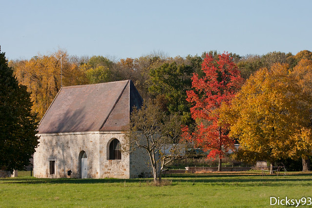 La chapelle du domaine de Soucy - Fontenay-les-Briis Essonne 91