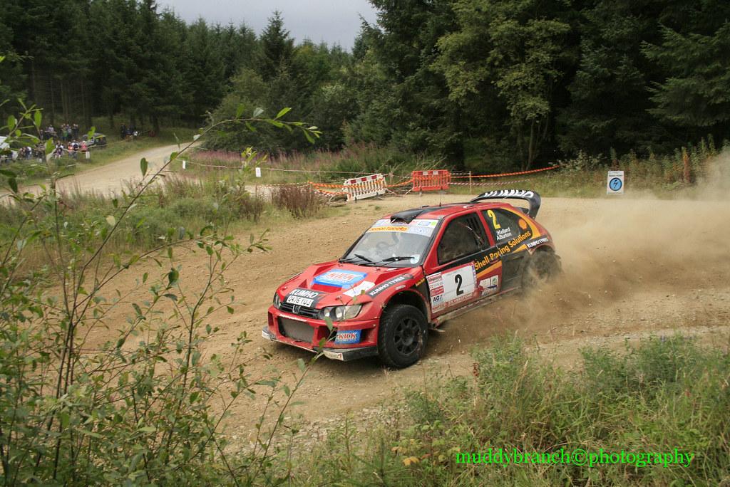 chupar O cualquiera abrazo  andy burton peugeot cosworth rally car   stephen mills   Flickr