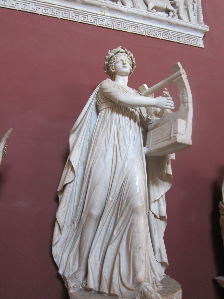 Statue of Erato, muse of hymns and love songs, collection