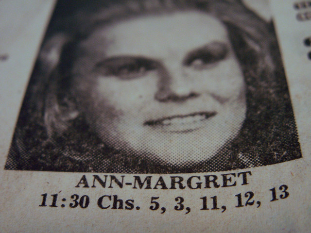 Ann-Margret: on almost all channels