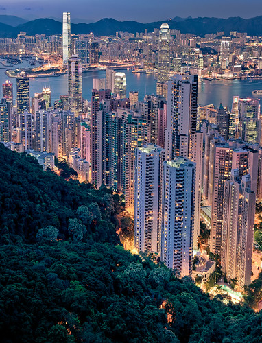 View from Victoria Peak | by Rickuz