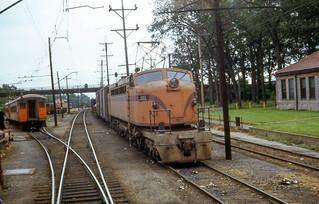19680810 12 South Shore Line 803 Michigan City