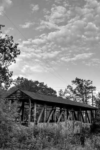 morning bridge blackandwhite bw usa sunrise pennsylvania coveredbridge hdr bedfordcounty apalachia photomatix newparis topazadjust apalachianmountains cupperttscoveredbridge