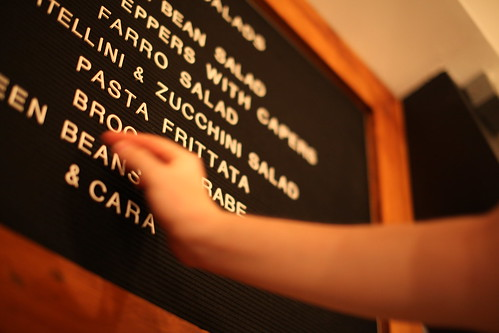 Letter Spacing Menu Board | by TagCollective