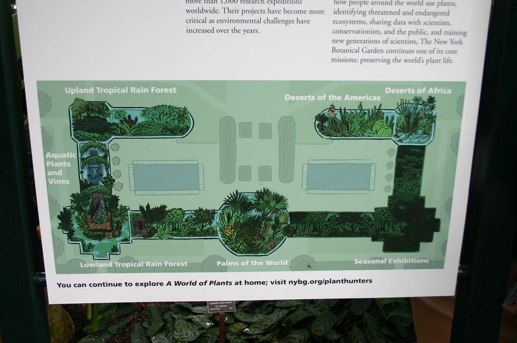 Map Of New York Botanical Garden.Enid A Haupt Conservatory Map Taken At The New York Botan Flickr
