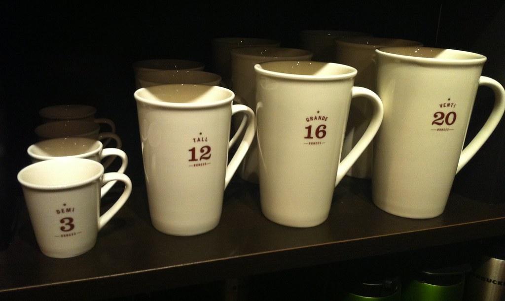 Starbucks Sizes Antonio Silveira Flickr