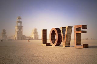 Burning Man: Spread the LOVE | by Little Lioness