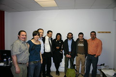 Visita Delegación Italiana a Izarra 2008