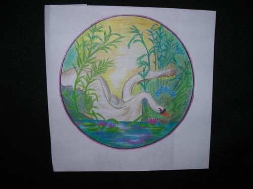 Swan. Jail Art