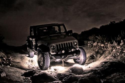 JK Rock Lights (edit)   by Travis Maggini Photography