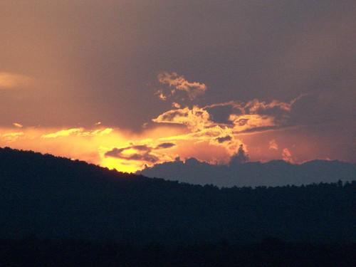 sunset lake after chazylake chazy andyarthur