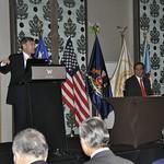 Wed, 07/20/2011 - 09:15 - Sesión de Apertura De izquierda a derecha: Richard D. Downie, Director, Centro de Estudios Hemisféricos de Defensa (CHDS), Andrés Allamand, Ministro de la Defensa Nacional de Chile